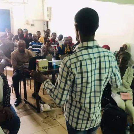 Leadership and public speaking training